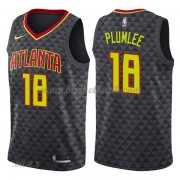 Barn NBA Tröja Atlanta Hawks 2018 Miles Plumlee 18# Icon Edition..