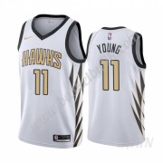 Barn NBA Tröja Atlanta Hawks 2019-20 Trae Young 11# City Edition Swingman..