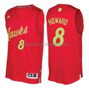 Atlanta Hawks Basketkläder 2016 Dwight Howard 8# NBA Jultröja..