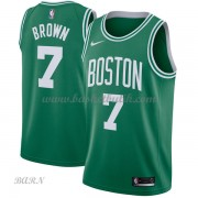 Barn NBA Tröja Boston Celtics 2018 Jaylen Brown 7# Icon Edition..