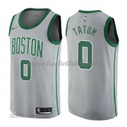 Barn NBA Tröja Boston Celtics 2018 Jayson Tatum 0# City Edition..