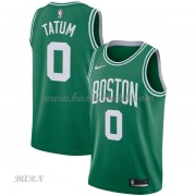 Barn NBA Tröja Boston Celtics 2018 Jayson Tatum 0# Icon Edition..