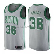 Barn NBA Tröja Boston Celtics 2018 Marcus Smart 36# City Edition..