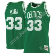 Barn NBA Tröja Boston Celtics 1985-86 Larry Bird 33# Grön Hardwood Classics Swingman..