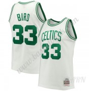 Barn NBA Tröja Boston Celtics 1985-86 Larry Bird 33# Vit Hardwood Classics Swingman..
