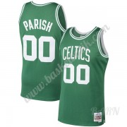 Barn NBA Tröja Boston Celtics 1985-86 Robert Parish 00# Grön Hardwood Classics Swingman..