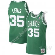 Barn NBA Tröja Boston Celtics 1987-88 Reggie Lewis 35# Grön Hardwood Classics Swingman..