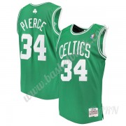 Barn NBA Tröja Boston Celtics 2007-08 Paul Pierce 34# Grön Hardwood Classics Swingman..