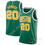 Barn NBA Tröja Boston Celtics 2019-20 Gordon Hayward 20# Grön Earned Edition Swingman..