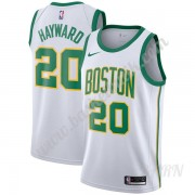 Barn NBA Tröja Boston Celtics 2019-20 Gordon Hayward 20# Vit City Edition Swingman
