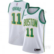 Barn NBA Tröja Boston Celtics 2019-20 Kyrie Irving 11# Vit City Edition Swingman..