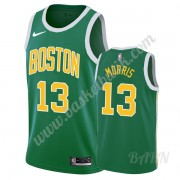 Barn NBA Tröja Boston Celtics 2019-20 Marcus Morris 13# Grön Earned Edition Swingman..
