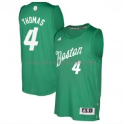 Boston Celtics Basketkläder 2016 Isiah Thomas 4# NBA Jultröja..