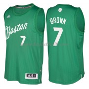 Boston Celtics Basketkläder 2016 Jaylen Brown 7# NBA Jultröja..
