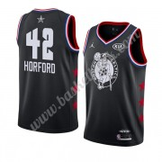 Boston Celtics 2019 Al Horford 42# Svart All Star Game NBA Basketlinne Swingman..