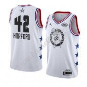 Boston Celtics 2019 Al Horford 42# Vit All Star Game NBA Basketlinne Swingman..