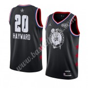 Boston Celtics 2019 Gordon Hayward 20# Svart All Star Game NBA Basketlinne Swingman..