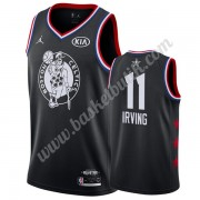 Boston Celtics 2019 Kyrie Irving 11# Svart All Star Game NBA Basketlinne Swingman..