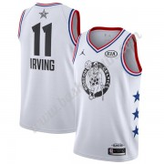 Boston Celtics 2019 Kyrie Irving 11# Vit All-Star Game Finished NBA Basketlinne Swingman..