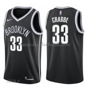 Barn NBA Tröja Brooklyn Nets 2018 Allen Crabbe 33# Icon Edition..