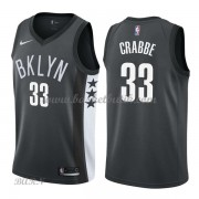 Barn NBA Tröja Brooklyn Nets 2018 Allen Crabbe 33# Statement Edition..