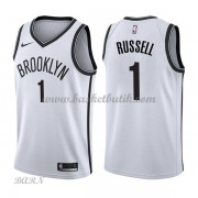 Barn NBA Tröja Brooklyn Nets 2018 D'Angelo Russell 1# Association Edition..