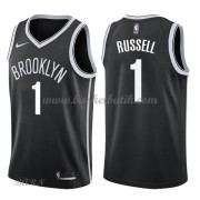 Barn NBA Tröja Brooklyn Nets 2018 D'Angelo Russell 1# Icon Edition..