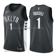 Barn NBA Tröja Brooklyn Nets 2018 D'Angelo Russell 1# Statement Edition..