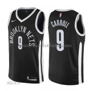 Barn NBA Tröja Brooklyn Nets 2018 DeMarre Carroll 9# City Edition..