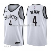 Barn NBA Tröja Brooklyn Nets 2018 Jahlil Okafor 4# Association Edition..