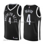 Barn NBA Tröja Brooklyn Nets 2018 Jahlil Okafor 4# City Edition..