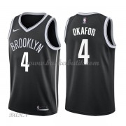 Barn NBA Tröja Brooklyn Nets 2018 Jahlil Okafor 4# Icon Edition..