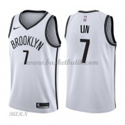 Barn NBA Tröja Brooklyn Nets 2018 Jeremy Lin 7# Association Edition..