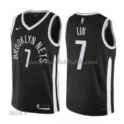 Barn NBA Tröja Brooklyn Nets 2018 Jeremy Lin 7# City Edition..