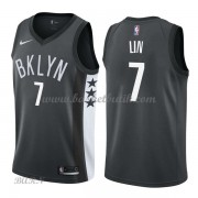 Barn NBA Tröja Brooklyn Nets 2018 Jeremy Lin 7# Statement Edition..