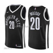 Barn NBA Tröja Brooklyn Nets 2018 Timofey Mozgov 20# City Edition..