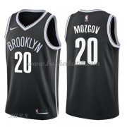 Barn NBA Tröja Brooklyn Nets 2018 Timofey Mozgov 20# Icon Edition..
