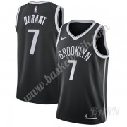 Barn NBA Tröja Brooklyn Nets 2019-20 Kevin Durant 7# Svart Icon Edition Swingman..