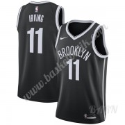 Barn NBA Tröja Brooklyn Nets 2019-20 Kyrie Irving 11# Svart Icon Edition Swingman