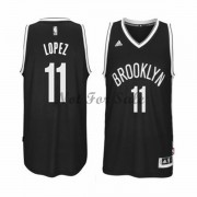 Brooklyn Nets Basket Tröja Brook Lopez 11# Road..