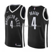 Brooklyn Nets Basket Tröja 2018 Jahlil Okafor 4# City Edition..