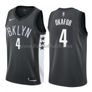 Brooklyn Nets Basket Tröja 2018 Jahlil Okafor 4# Statement Edition..