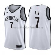 Brooklyn Nets Basket Tröja 2018 Jeremy Lin 7# Association Edition..