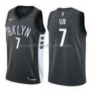 Brooklyn Nets Basket Tröja 2018 Jeremy Lin 7# Statement Edition..