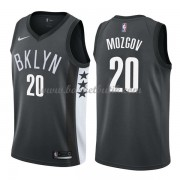 Brooklyn Nets Basket Tröja 2018 Timofey Mozgov 20# Statement Edition..