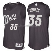 Brooklyn Nets Basketkläder 2016 Trevor Booker 35# NBA Jultröja..