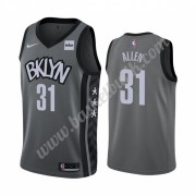 Brooklyn Nets Basket Tröja 2019-20 Jarrett Allen 31# grå Statement Edition Swingman..