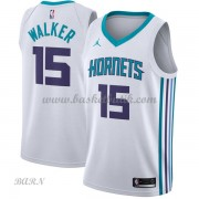 Barn NBA Tröja Charlotte Hornets 2018 Kemba Walker 15# Association Edition..