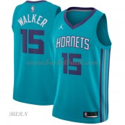 Barn NBA Tröja Charlotte Hornets 2018 Kemba Walker 15# Icon Edition..