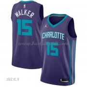 Barn NBA Tröja Charlotte Hornets 2018 Kemba Walker 15# Statement Edition..